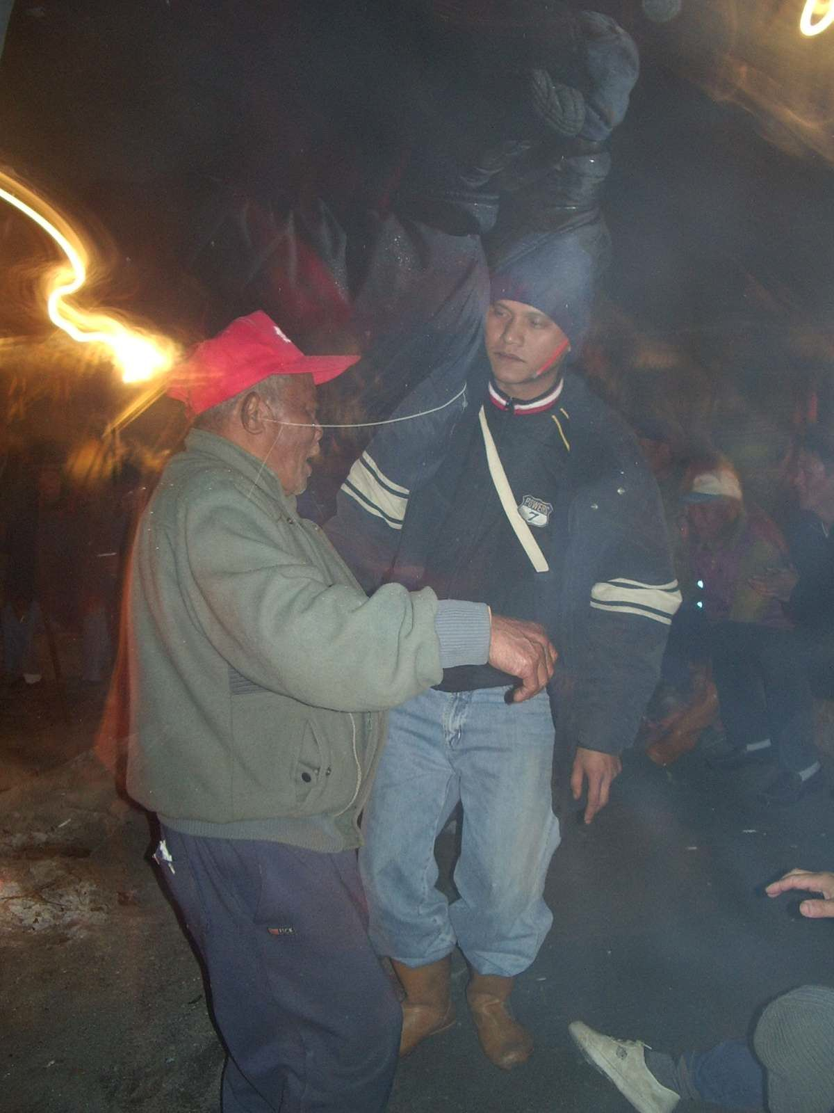 Valikay and Sangpuy at the Big Hunt Ceremony, december 2004