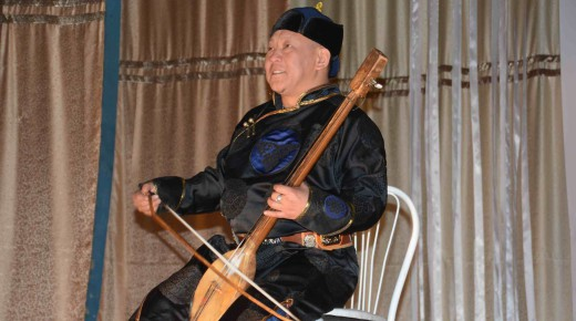 Musical pearls from Tuva in Taiwan