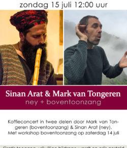 Concert with Sinan Arat in Oosterkerk, Amsterdam