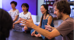 Workshop boventoonzang in Oosterkerk